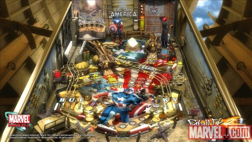 Captain America Marvel Pinball Table Review (PS3)
