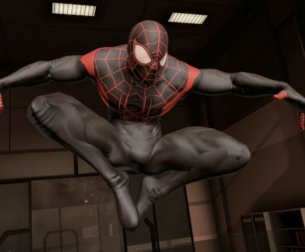 Spider-Man Edge of Time New Ultimate Costume 01