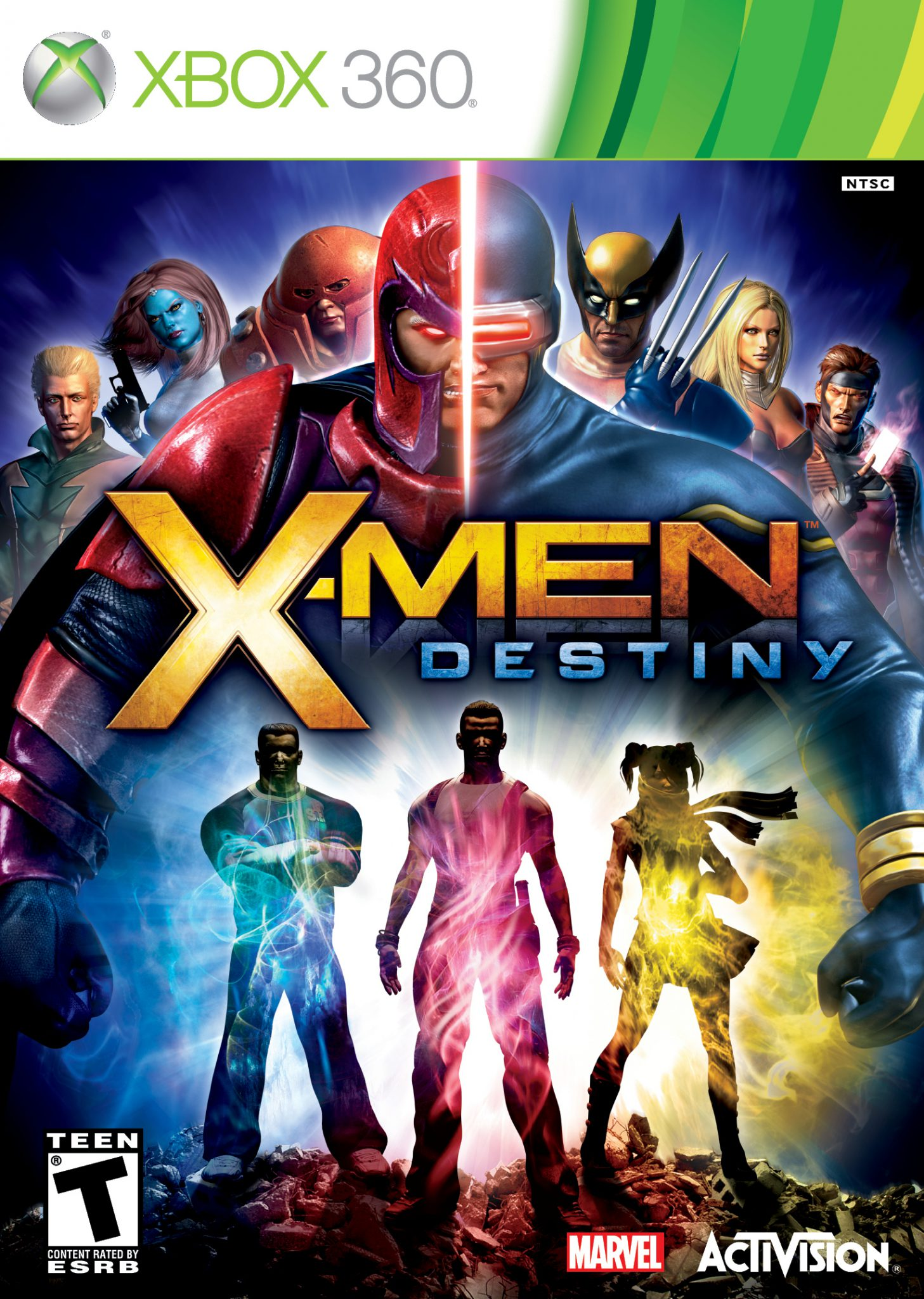X-Men Destiny - Xbox 360 Box Art