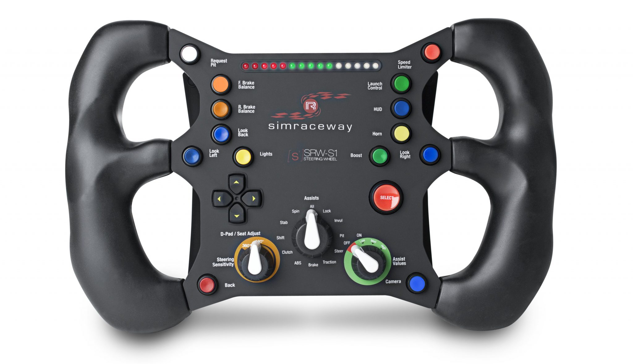 Steelseries Launches The Simraceway Srw S1 Steering Wheel