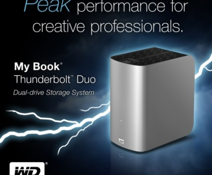 WESTERN DIGITAL TECHNOLOGIES WD MY BOOK THUNDERBOLT DUO