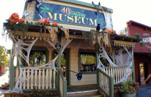 Halloween Haunt Museum Ribbon Cutting Ceremony