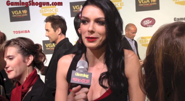 Adrianne Curry Interview at the Spike Video Game Awards
