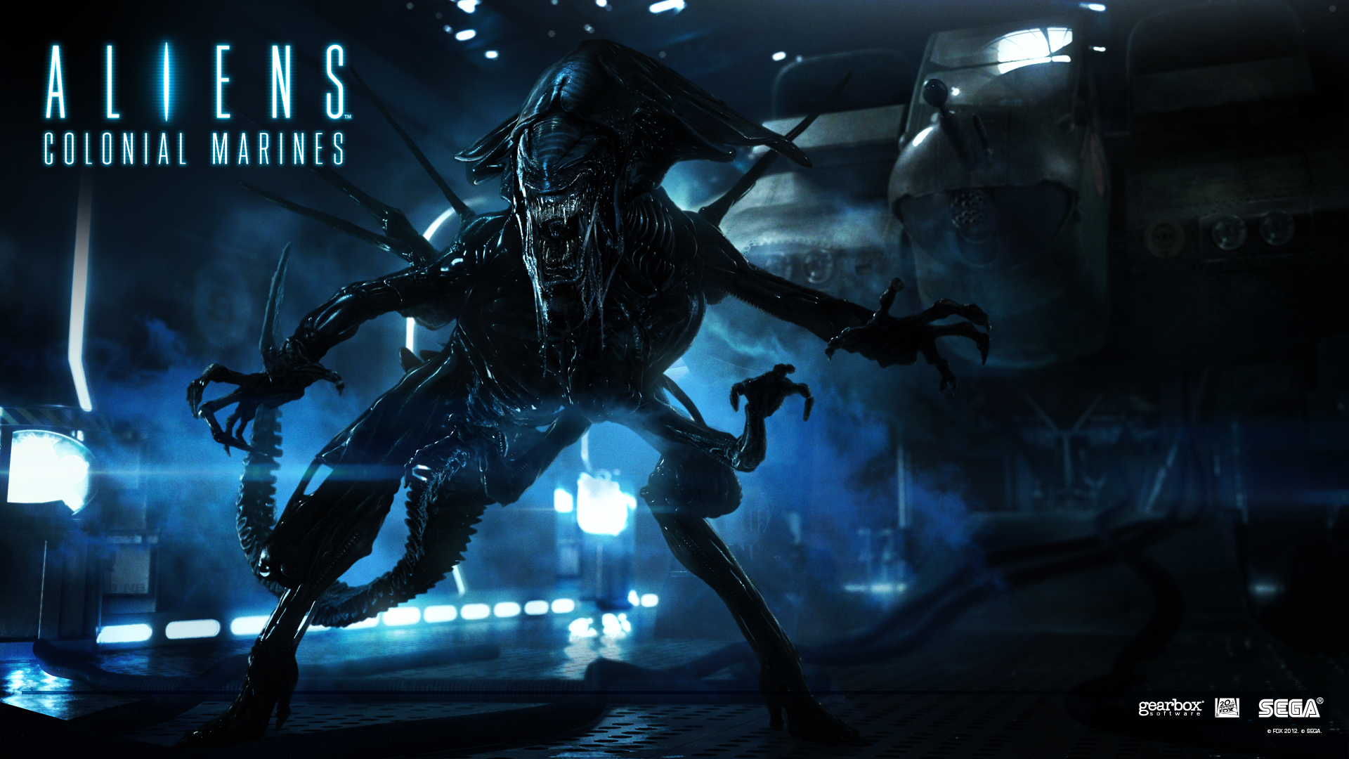 Alien Queen from their upcoming Aliens: Colonial Marines ? check it