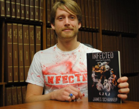 Local grad pens zombie thriller