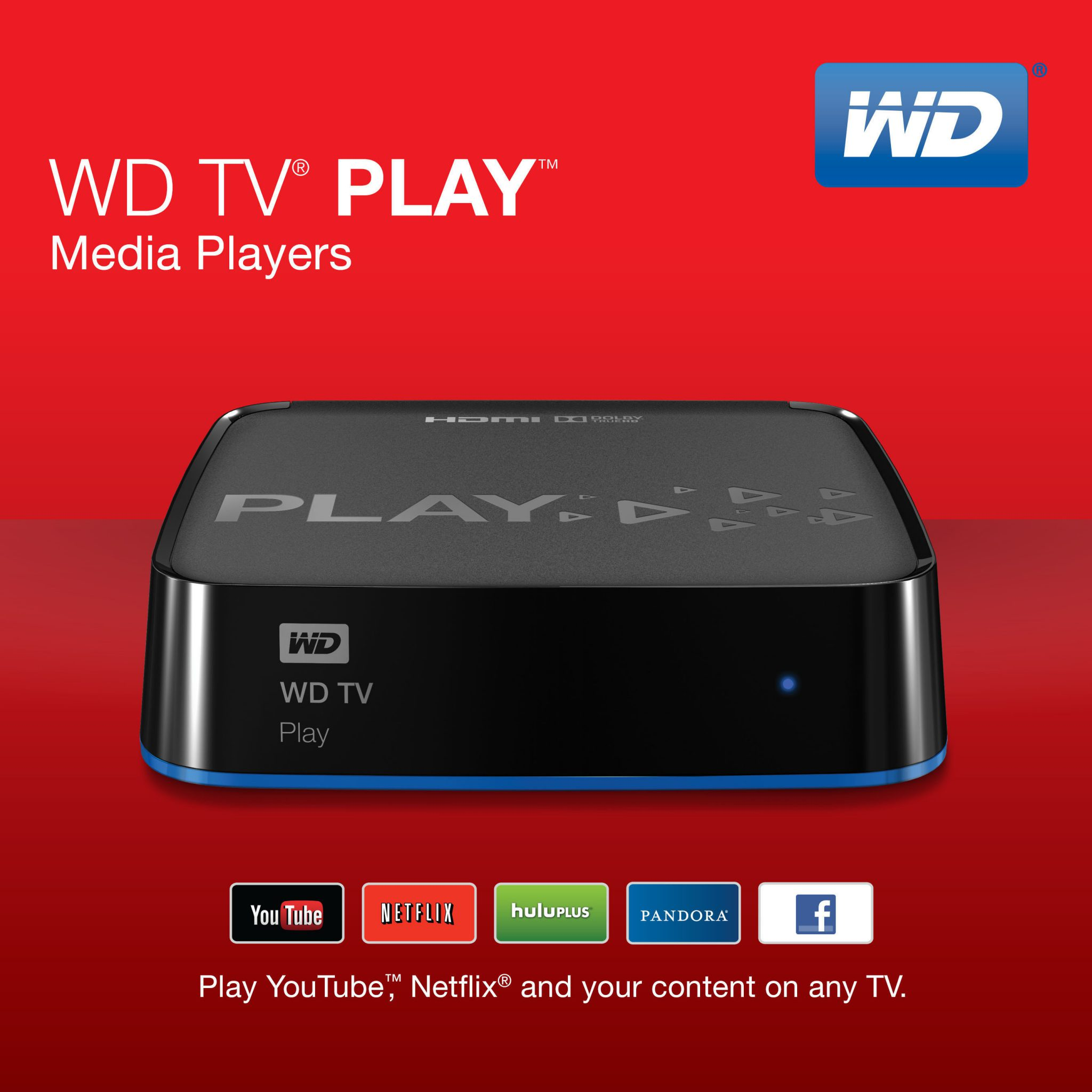 WD VERSATILE MEDIA PLAYER