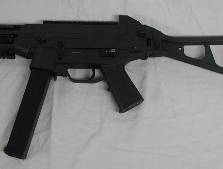 DE-UMP-M89-LASER-SCOPE-AIRSOFT-RIFLE-LEFT-VIEW