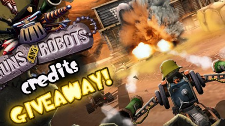 GUNS and ROBOTS Credits Code Giveaway – Expired