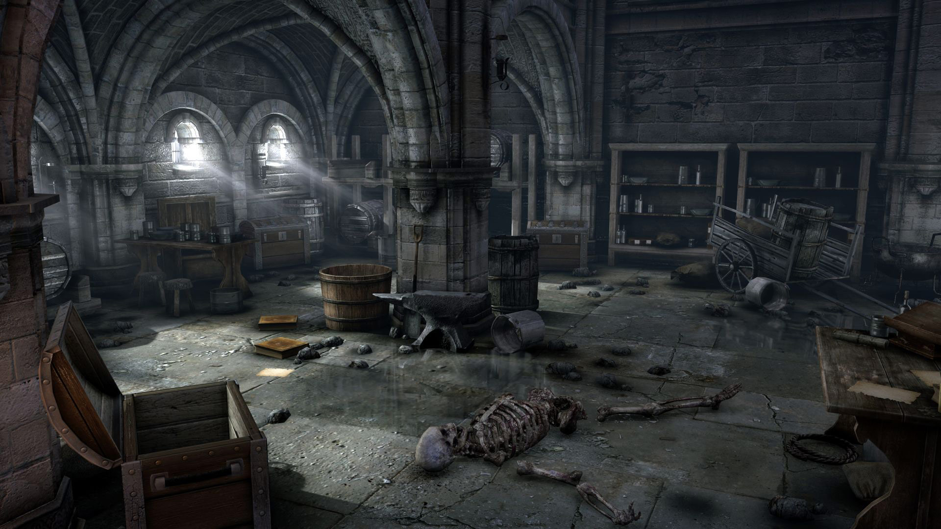 hellraid-01_Monastery_Warehouse