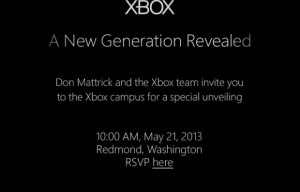 Xbox Reveal Event Set for May 21