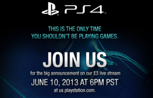 SONY E3 2013 Press Event Details