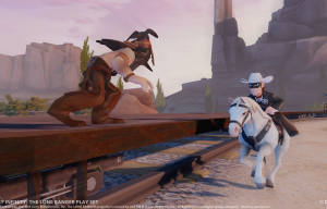 The Lone Ranger Play Set Announced for Disney Infinity