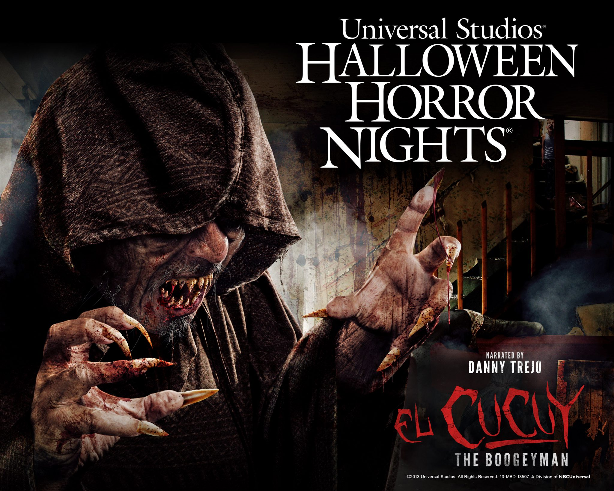 el cucuy the boogeyman announced for halloween horror - Universal Halloween Night
