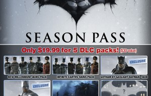 Batman: Arkham Origins Season Pass Announced