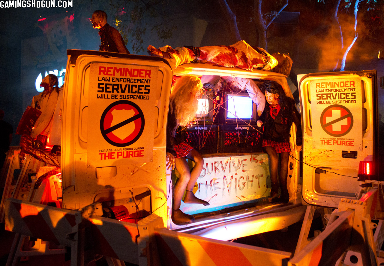 Halloween Horror Nights Hollywood 2013 Review | GamingShogun