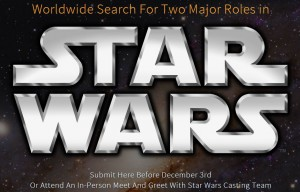 Star Wars Casting Call Posting
