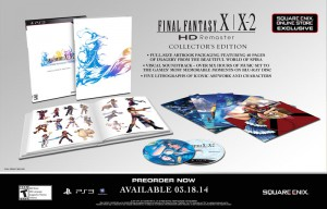 Final Fantasy X / X-2 HD Remaster Collector's Edition Announced