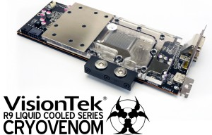 VisionTek Unveils Liquid Cooled R9 290 GPU at CES