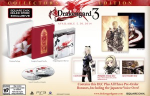 Drakengard 3 Release Date and Collector's Edition Revealed