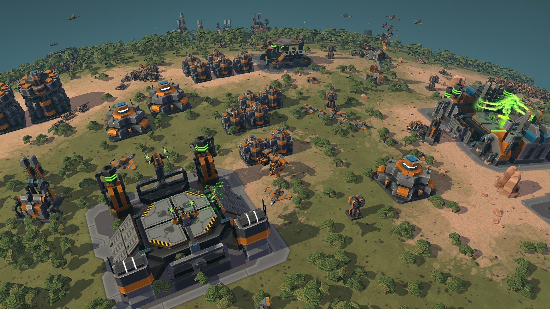 preview of planetary annihilation pc gamingshogun. Black Bedroom Furniture Sets. Home Design Ideas
