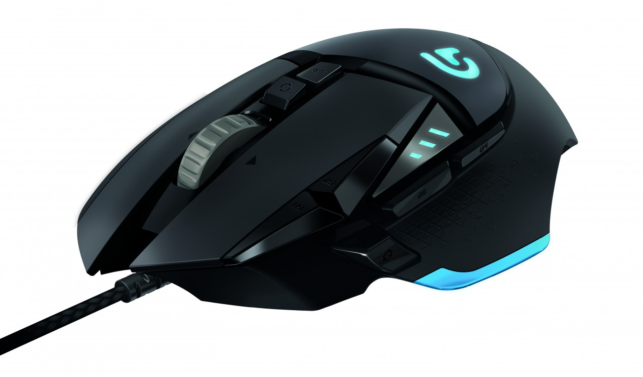 Logitech Unveils G502 Tunable Gaming Mouse