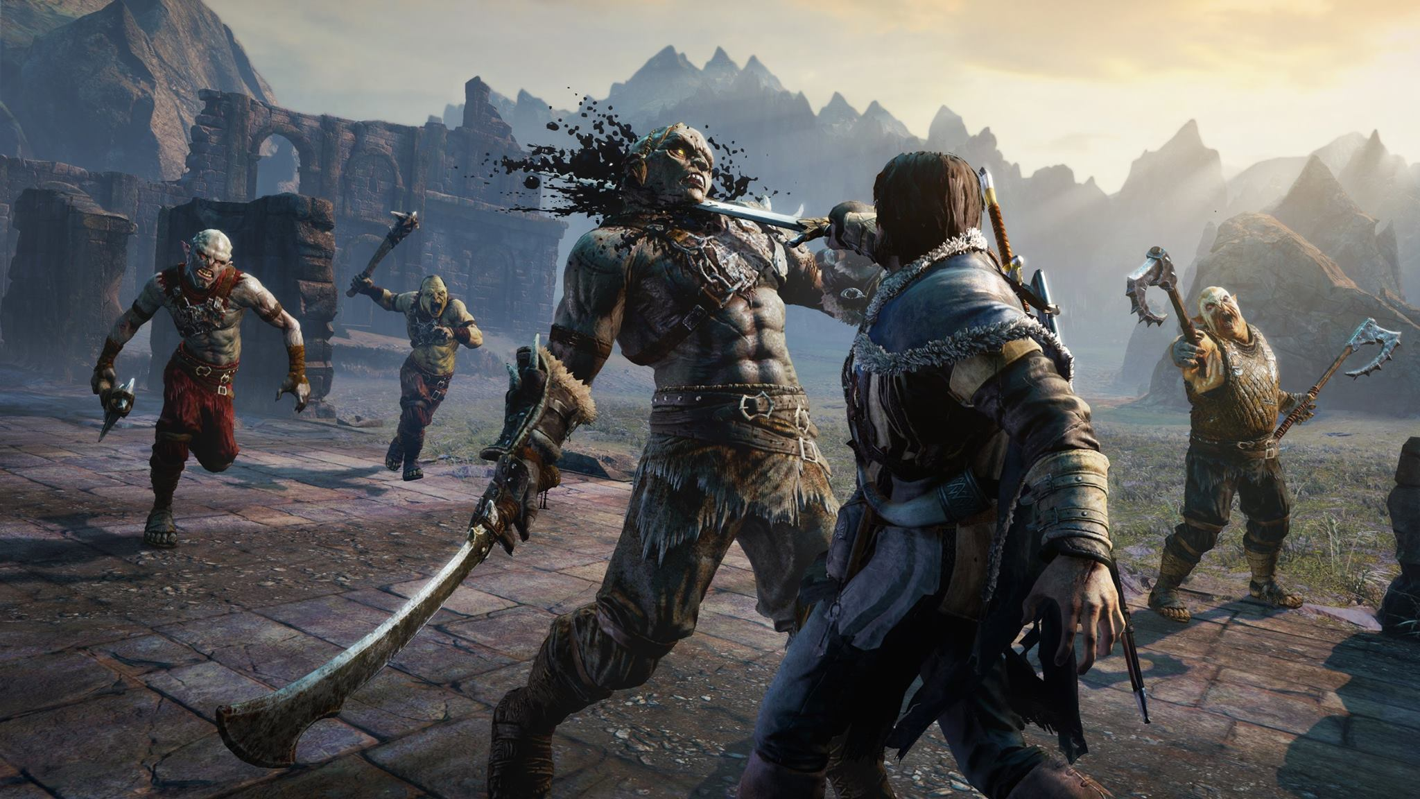 Middle Earth Shadow Of Mordor Black Box Repack