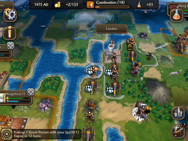 Sid Meier's Civilization Revolution 2 Review (iOS)