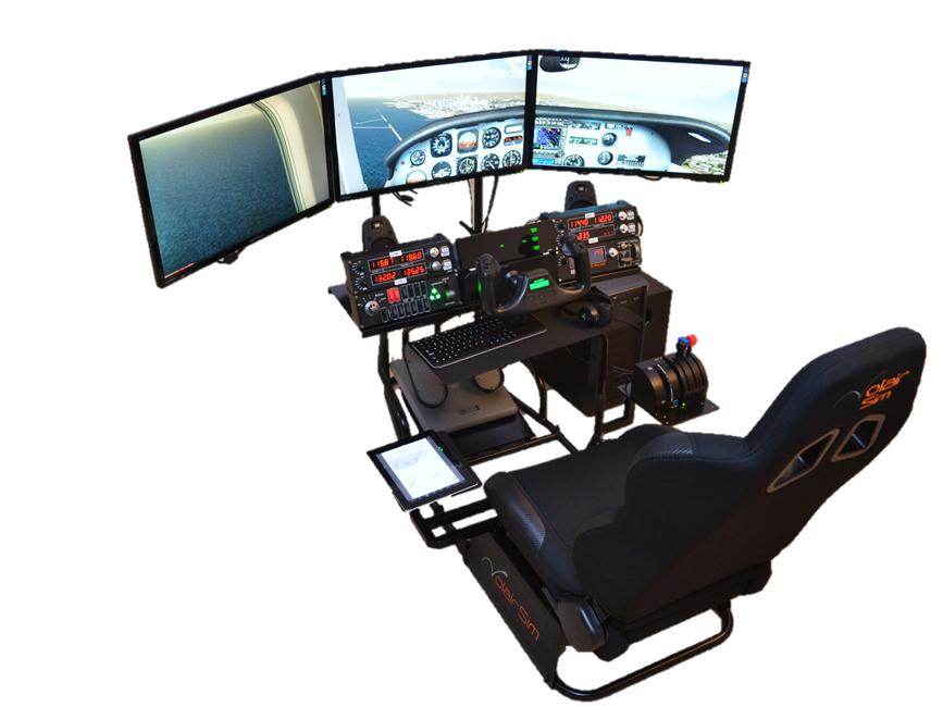 Volair Sim Flight / Racing Cockpit Review | GamingShogun