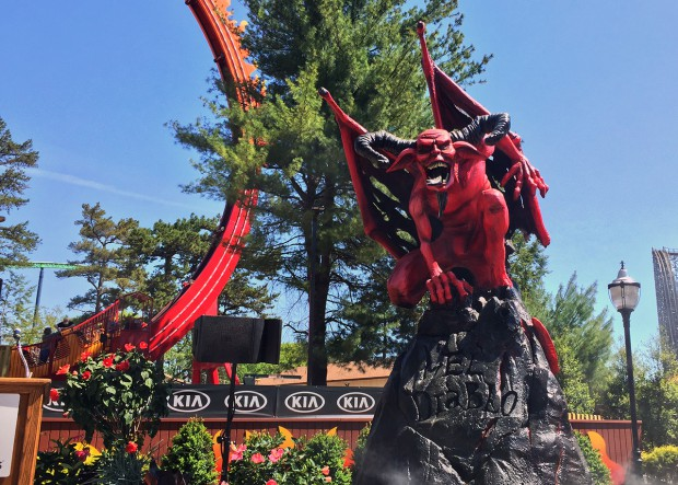 Six Flags Great Adventure El Diablo Media Event and Review