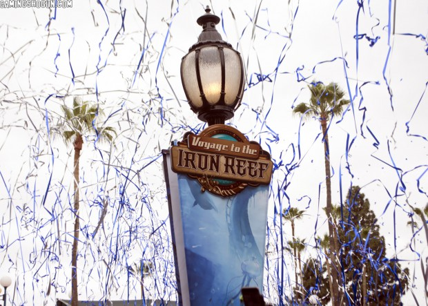 Knott's Berry Farm Voyage to the Iron Reef Review #knottsironreef