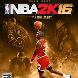 2K Sports NBA 2K16 Basketball Box Art Xbox One