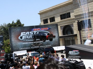 Universal Studios Fast & Furious - Supercharged Premiere Event