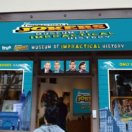 Impractical Jokers Museum of Impractical History for Comic-Con