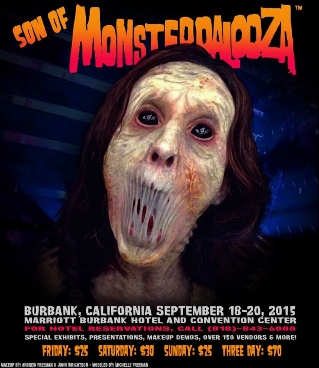 Son of Monsterpalooza horror convention coming to LA promo image