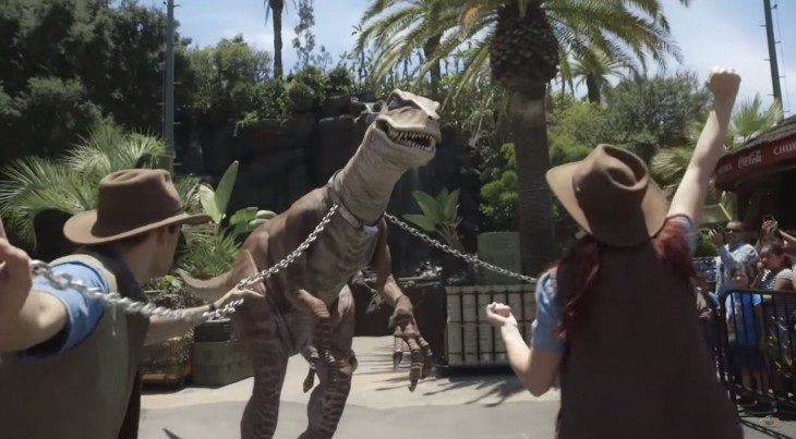 Universal Studios Hollywood Raptor Encounter Image