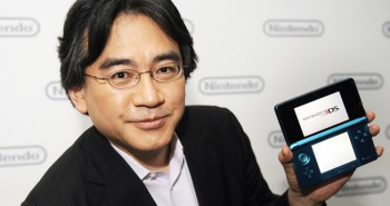 Satoru Iwata, President of Nintendo Co., Ltd., poses during an interview after Nintendo's E3 presentation of their new Nintendo 3DS at the E3 Media & Business Summit in Los Angeles June 15, 2010. Japan's Nintendo Co Ltd on Tuesday took the wraps off a new version of its DS handheld device that can play games and show movies in 3D without glasses, in an effort to revitalize demand. REUTERS/Phil McCarten (UNITED STATES - Tags: SCI TECH BUSINESS)