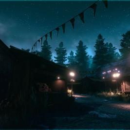 Funcom's The Park Haunted Amusement Park Game Screenshot