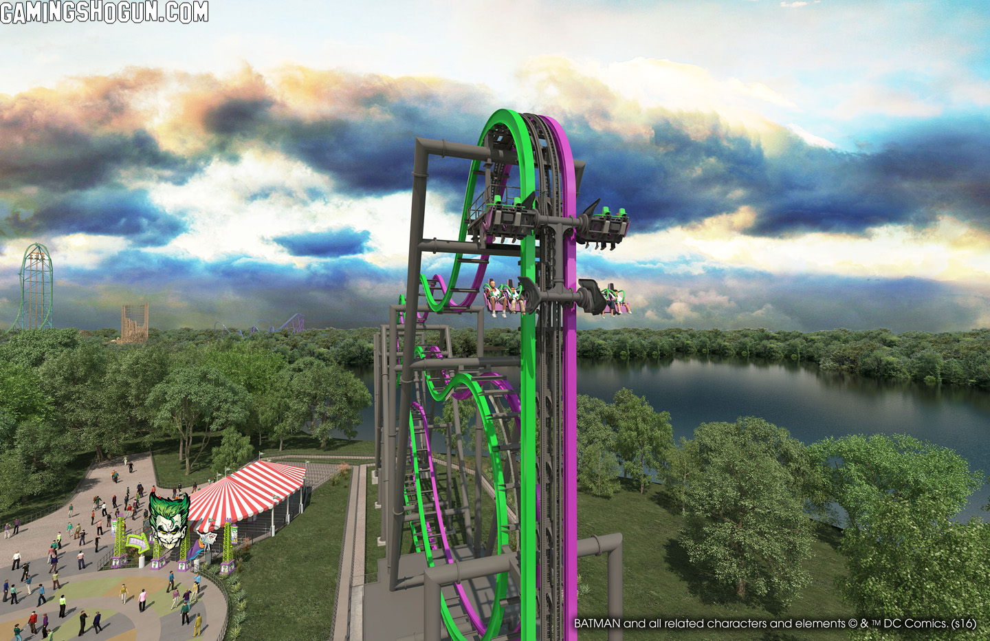 The new six flags ride 7
