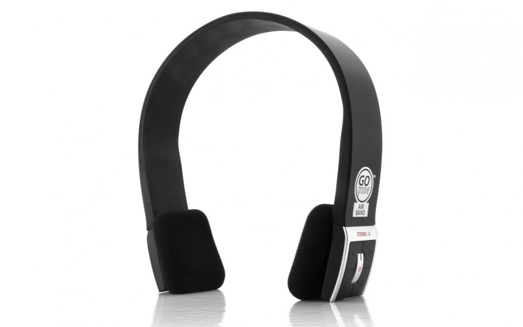 accessory power gogroove airband wireless bluetooth headset review. Black Bedroom Furniture Sets. Home Design Ideas