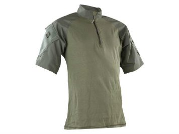 0-1001-tru-spec-nylon-cotton-1-4-zip-short-sleeve-combat-shirt-olive-drab