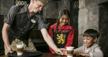 """The Wizarding World of Harry Potter"" now serves hot Butterbeer at Three Broomsticks."