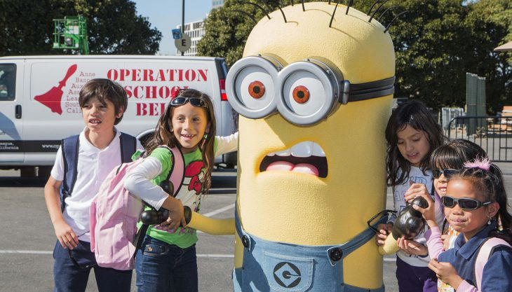 Day of Giving, Universal Studios Hollywood