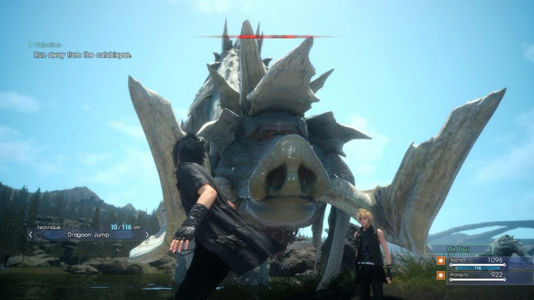 Final fantasy xv content released and nier automata for Final fantasy 15 fishing guide