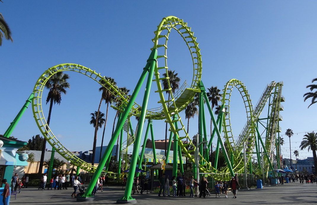 Silver Bullet (Knott's Berry Farm) | Roller coaster park ... |Knotts Berry Farm Coasters