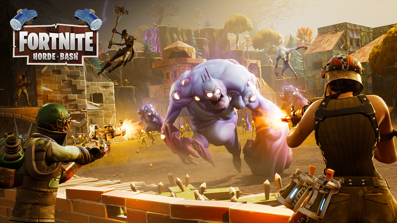 Fortnite s pve horde bash update arrives october 5 - Fortnite save the world wallpaper ...