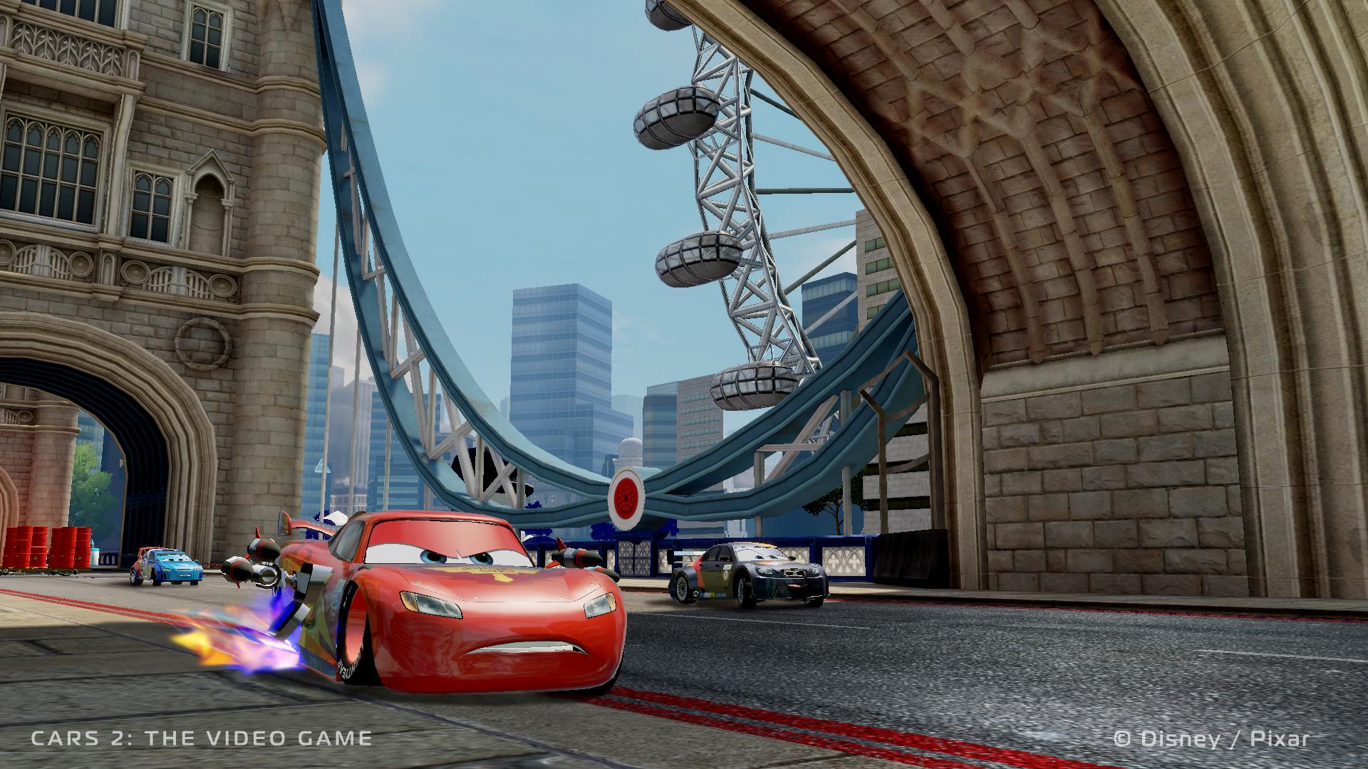 Cars 2 The Video Game Launch Screenshots And Trailer Gamingshogun
