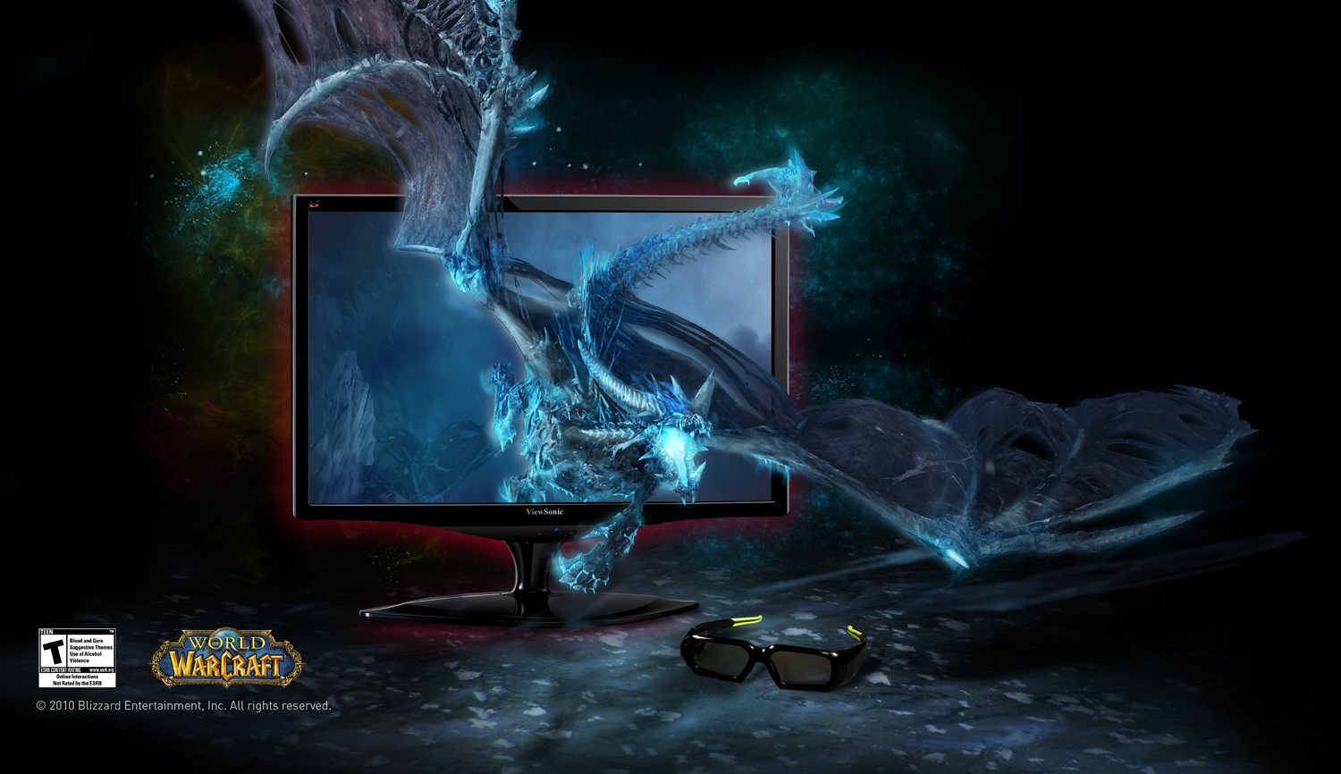 3d Nvidia Vision Myopiageneral Glasses: ViewSonic And Nvidia Unveil New 3D Monitor