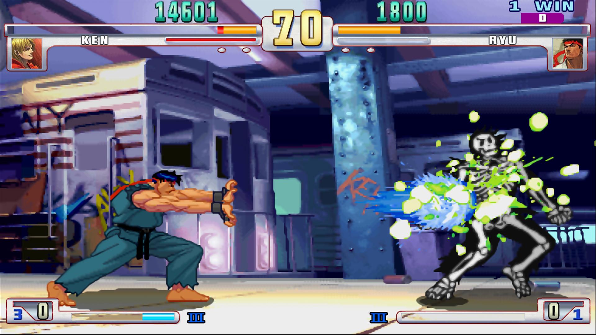 Street fighter iii: third strike online edition.