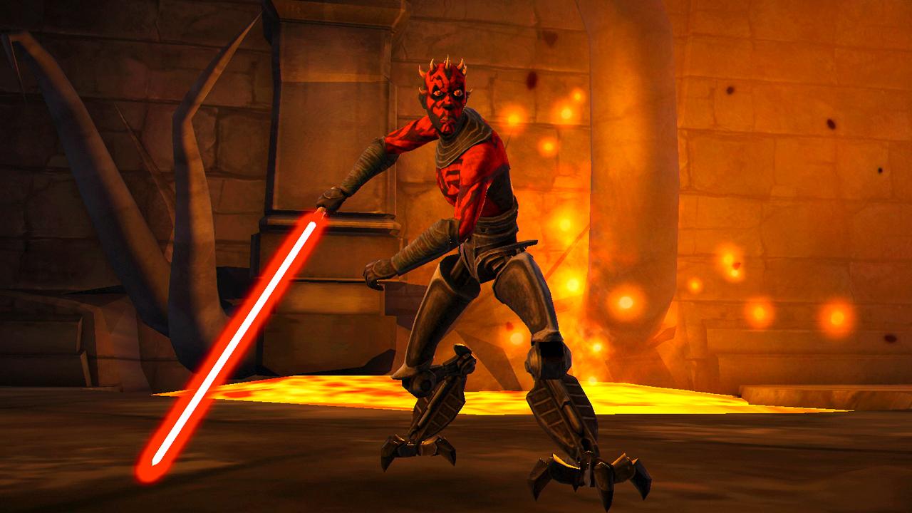 Darth maul coming to star wars clone wars adventures - Vaisseau dark maul ...
