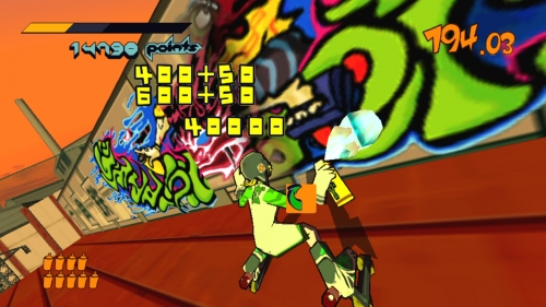 Jet Set Radio Jumps Platforms In HD | GamingShogun